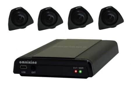 Видеорегистратор с несколькими камерами