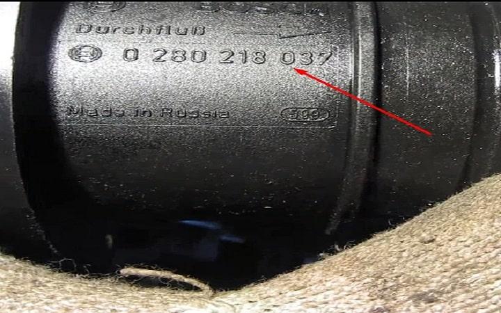 Проверка ДМРВ мультиметром ВАЗ 2110, 2111, 2112