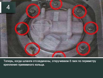 Как снять бензонасос на ВАЗ 2110 инжектор 8 клапанов