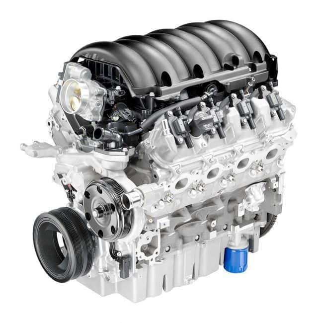 Двигатель GMC L83
