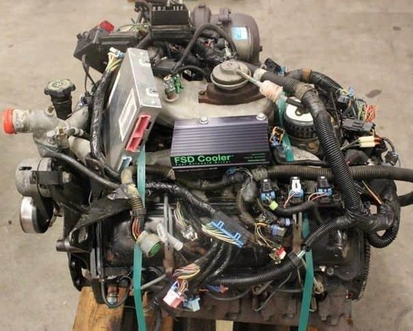 Двигатель Chevrolet L56 подготовленный к продаже