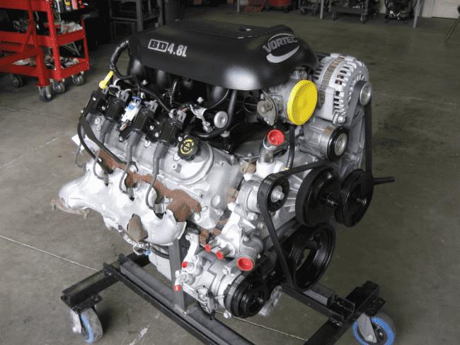 Двигатель Vortec LR4