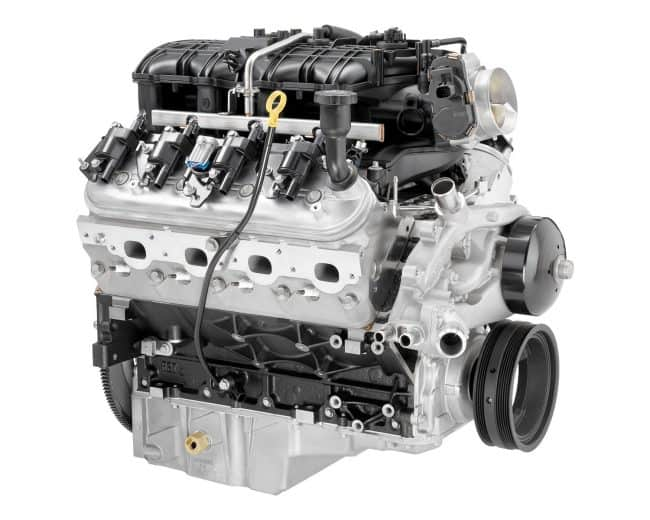 Двигатель GMC LFA