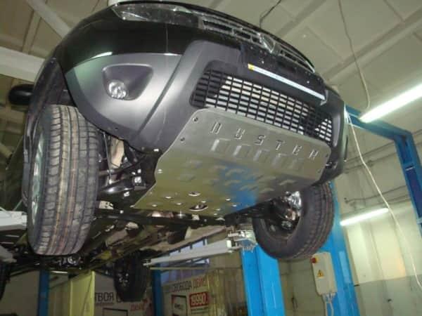 Защита двигателя Renault Duster