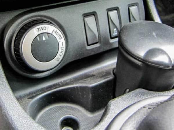 Режим 2WD Renault Duster