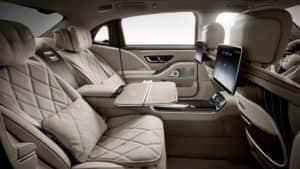 Салон Mercedes Maybach 2021