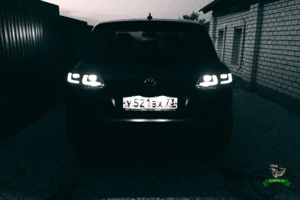 фары Volkswagen Toaureg
