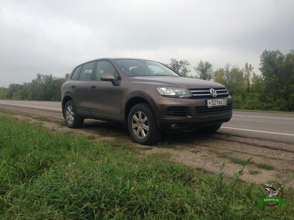 Volkswagen touareg 210 отзывы