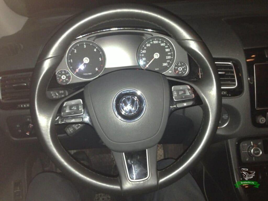 руль Volkswagen Toaureg