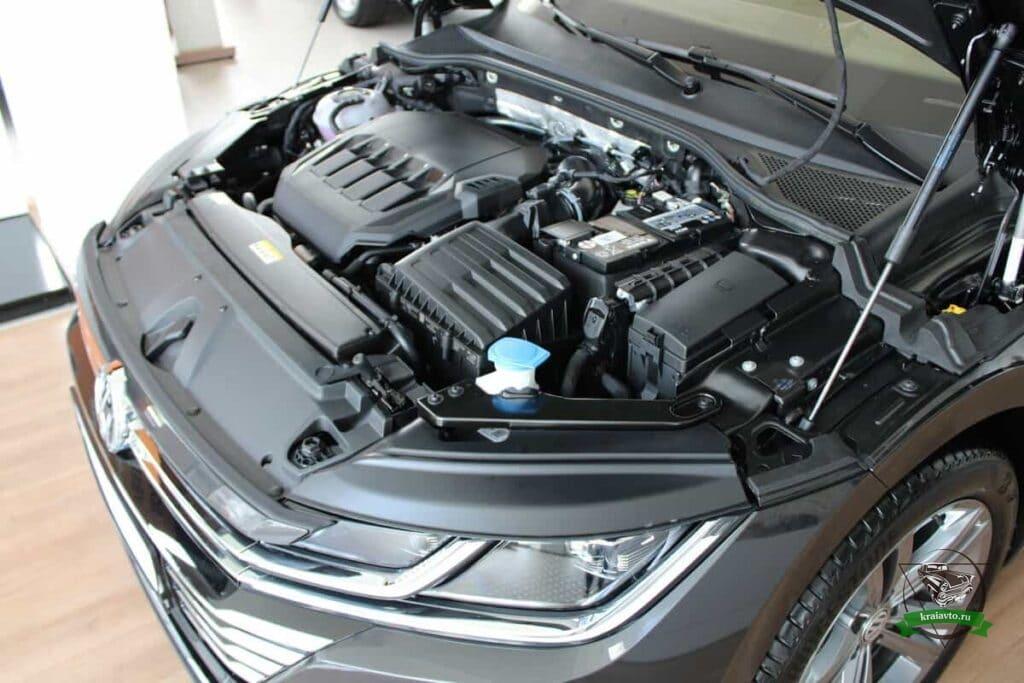 двигатель volkswagen arteon