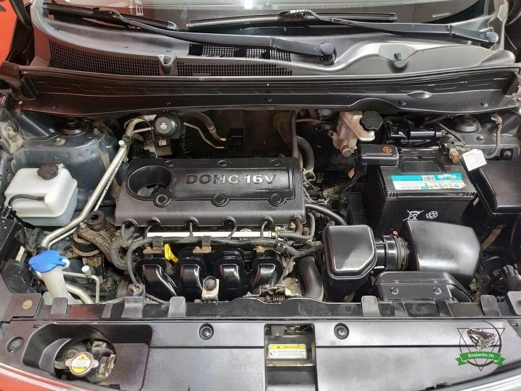 двигатель sportage 3